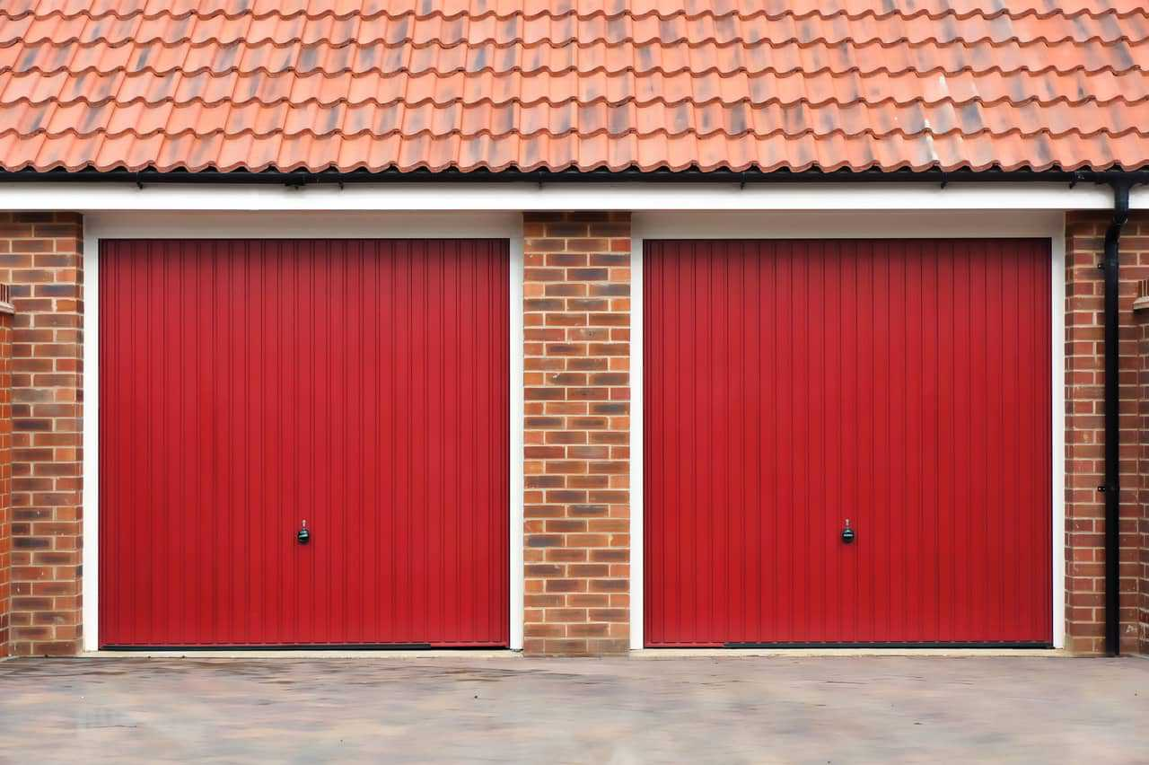 red-garage-doors-installation
